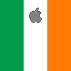 Ireland flag iPhone case by mattiaterrando