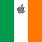 Ireland flag iPhone case by mattiaterrando