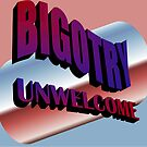 Bigotry Unwelcome by SocJusticeInk