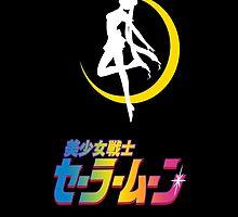 Bishoujo Senshi Sailor Moon! (Black) by retropopsugar