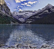 Lake Louise, Banff National Park by Vickie Emms