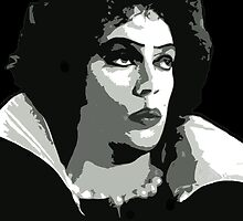 Frank-n-Furter from The Rocky Horror Picture Show  by Framerkat
