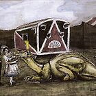 Hadrosaur Tent Show by JoePluto