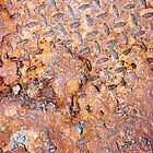 Rusted Metal Floor Plate - iPhone Case by Christopher Herrfurth