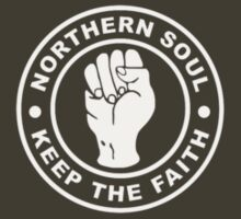 Northern Soul (white print) by bern67