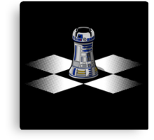 Chess R2-D2: Rook to D2 Canvas Print