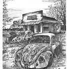 VW junkyard by bulldawgdude