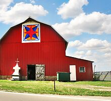 Quilt Barn by Nadya Johnson