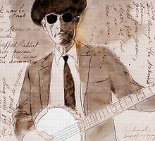banjo by Loui  Jover