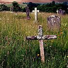 The Old Rugged Cross, Hawkshead, Cumbria. by Roy  Massicks