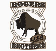 usa warriors buffalo by rogers bros by usanewyork