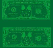 Disney Dollars by PrinceRobbie