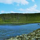 Panorama, Giant's Causeway, Northern Ireland by Lisa Hafey