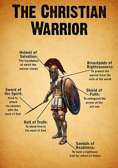 The Christian Warrior by Kingofgraphics