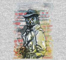 Noir Owl Detective by Ashley Peppenger