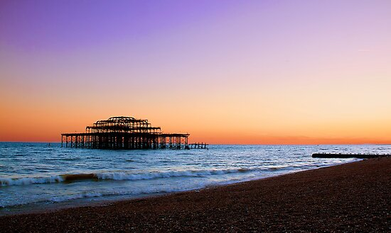 Brighton West Pier by Fern Blacker