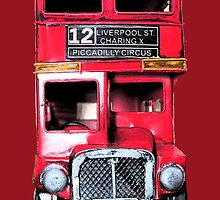 Old London Bus by PerkyBeans