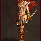 Red Sonja at Last!! by Kevin Yancey