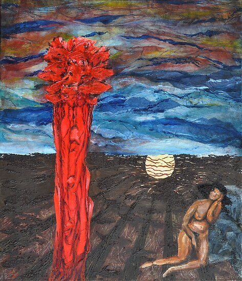 Eve dreaming of paradise by Maraia