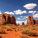 Monument Valley - North Window Overlook  by Saija  Lehtonen