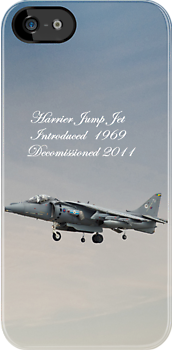 Harrier Jump Jet  iPhone Case by Catherine Hamilton-Veal  ©