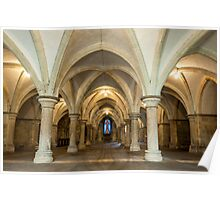 The Crypt: Rochester Cathedral Poster
