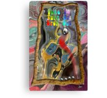 Timothy Leary's Pinball Machine Canvas Print