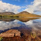 Lough Shindilla Connemara Galway Ireland. by MickBourke
