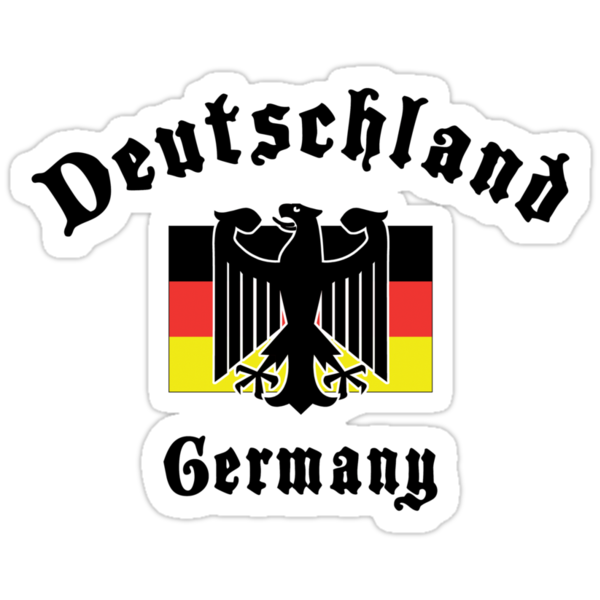 Deutschland Germany T-Shirt by HolidayT-Shirts