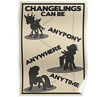 Changelings Can Poster