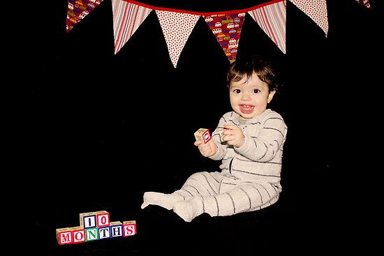 10 months old by photosbybec