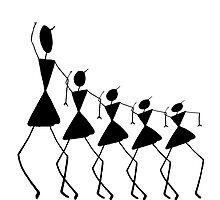Warli -Dance by Priyanka Nayak