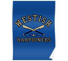 Westish Harpooners Poster