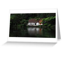 Late Afternoon Stroll by the Lake Greeting Card
