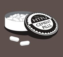 """Harden Up"" Cement Pills by collingridge"