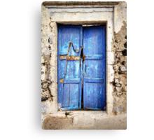 The Old Blue Door Canvas Print