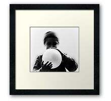 blowing out the bad Framed Print
