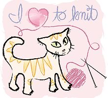I Love To Knit by RC1013