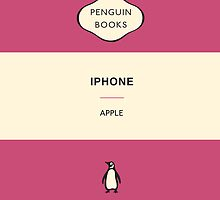 Iphone Penguin Classic Case - Pink by Simon Westlake