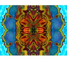 Fractal Flower x4 Photographic Print