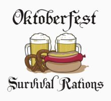 "Oktoberfest ""Survival Rations"" T-Shirt by HolidayT-Shirts"