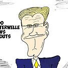 Guido Westerwelle caricature by Binary-Options