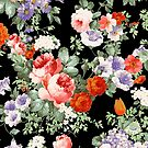 Colorful Assorted Flowers Digital Illustration by artonwear
