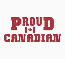 Proud Canadian T-Shirt T-Shirt