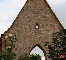 Part of a Church in Erfurt, Germany II by vbk70