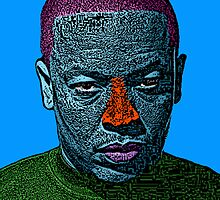 Dr. Dre Hip Hop Culture Cloth Zinc Collection by CultureCloth