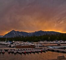 Marina Sunset by Dory Breaux