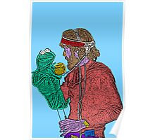 Jim Henson Kermit the Frog Culture Cloth Zinc Collection Poster