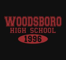 Scream Woodsboro High School by waywardtees