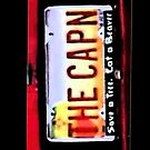 Breaking Bad The Capn License Plate  by HighDesign